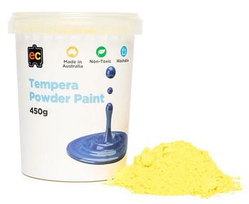 Tempera Powder Paint 450gm - Yellow
