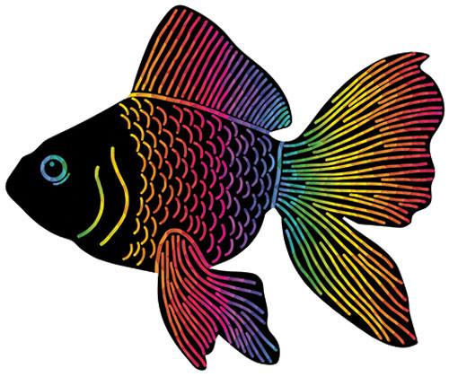 Scratch Fish - Pack of 24