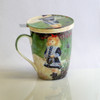 Renoir Girl with a Watering Can Tea Mug w/ Infuser and Lid