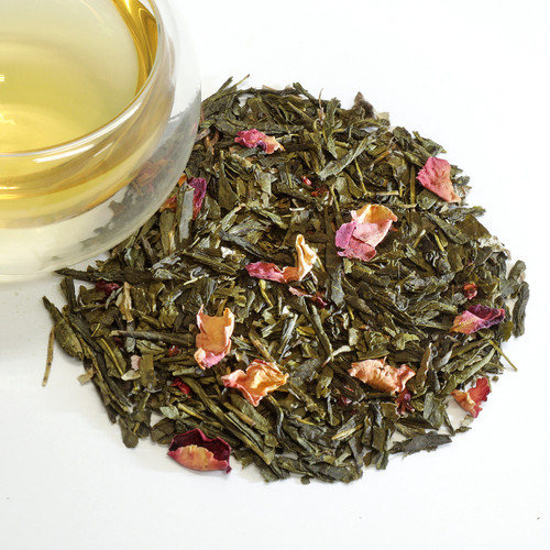 Raspberry Green Loose Leaf Tea