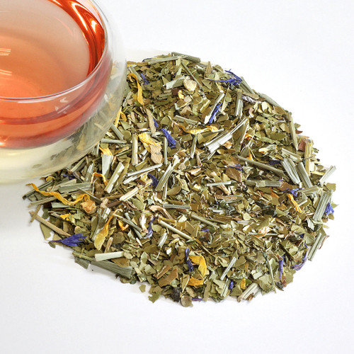 Energy Mate South American This energetic blend of South American Maté, gingko, ginseng, and refreshing spearmint will keep you going throughout the day. Contains caffeine.