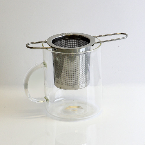 Folding Handle Tea Infuser with Carrying Case