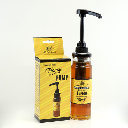 HONEY PUMP FOR 12oz GLASS JARS