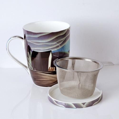 Harris Ice House Tea Mug w/ Infuser and Lid