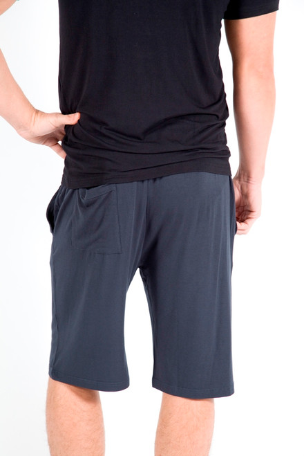 Bamboo Shorts. Pictured Colour: Charcoal
