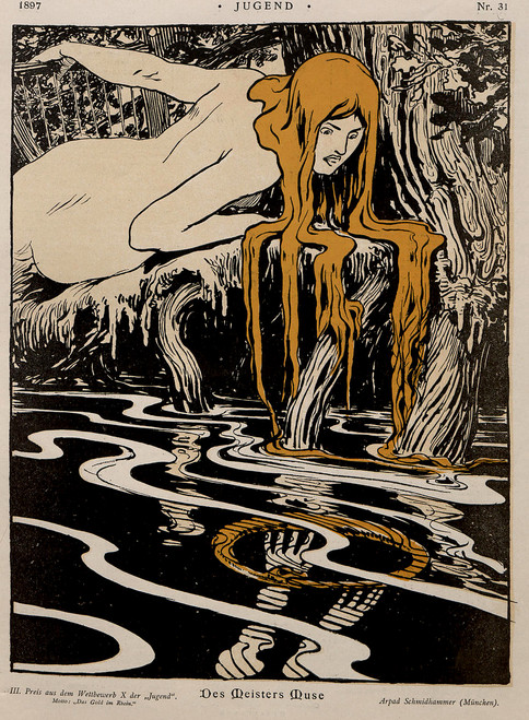 Jugend Germanic Art Nouveau & Jugendstil Images Download