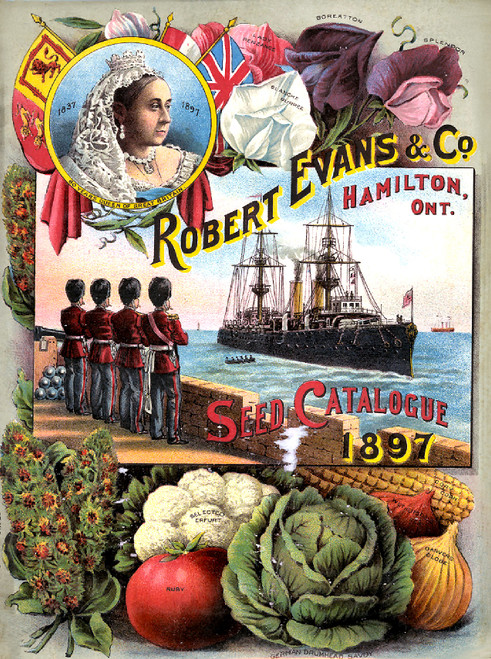 Vintage Seed Catalogue Covers Image Collection Download