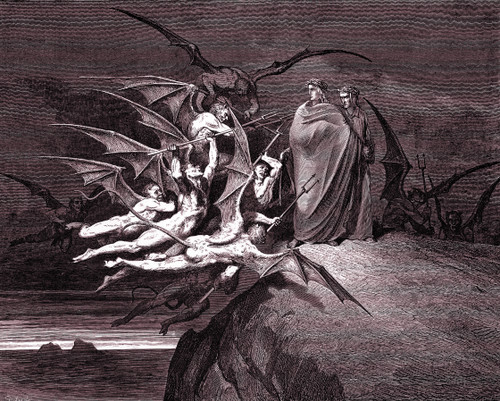 Dante's Inferno, Purgatory & Paradise - Doré Engravings (Download)