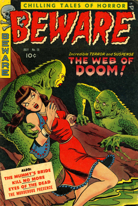 Vintage Horror Comic Covers (Download)