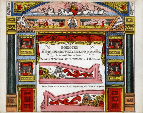 POLLOCK'S Paper Model Toy Theatre:- 175x Template Sheets - RESTORED ORIGINALS (Vols. 1-3)