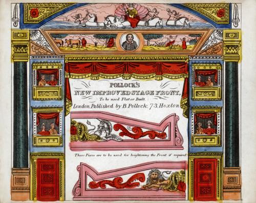 POLLOCK'S Paper Model Toy Theatre:- 175x Template Sheets - RESTORED ORIGINALS (Vols. 1-3)