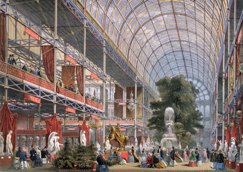 Premium Hi-Res Prints - Great Exhibition, Crystal Palace 1851