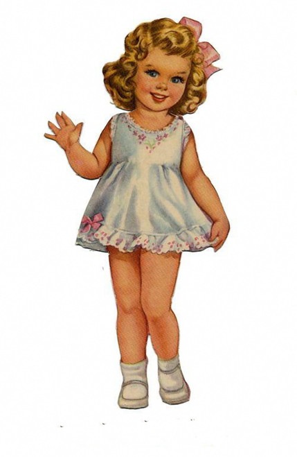VINTAGE PAPER DOLLS ☆ 1000s Restored Page Images to PRINT, CUT & MAKE!