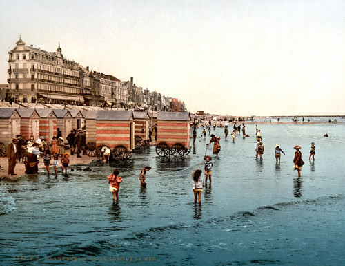 EUROPEAN SEASIDE PHOTOCHROM VIEWS - 101x Large High Resolution Images