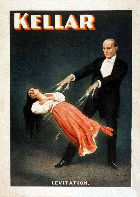 Print & Sell VINTAGE MAGICIAN FLYERS - Image Collection Download