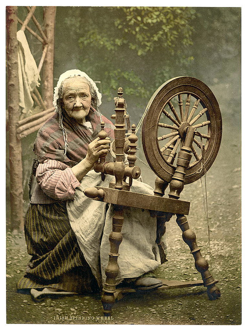 Antique c1900 IRELAND PHOTOCHROM VIEWS - 121x High Resolution Colour Scenes via Download Link