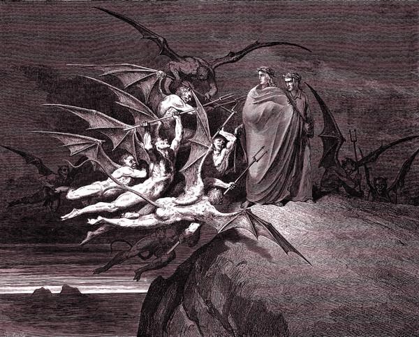 Dante's Inferno, Purgatory & Paradise - Doré Engravings (Download)