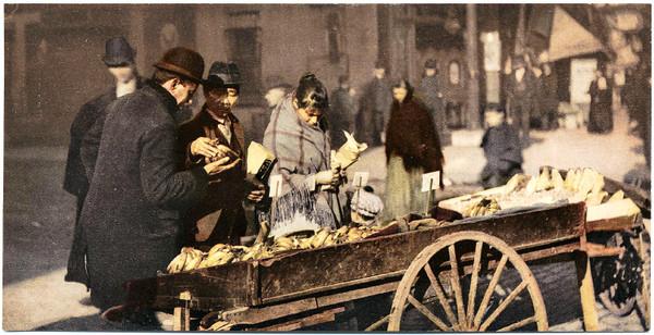 Vintage USA Street Scene Photos - Restored Digital Collection