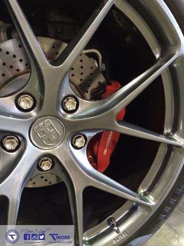 Porsche Cayenne Titanium Two Piece Security Locks