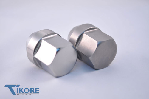 Subaru WRX STI Titanium Closed Ended Lug Nut set