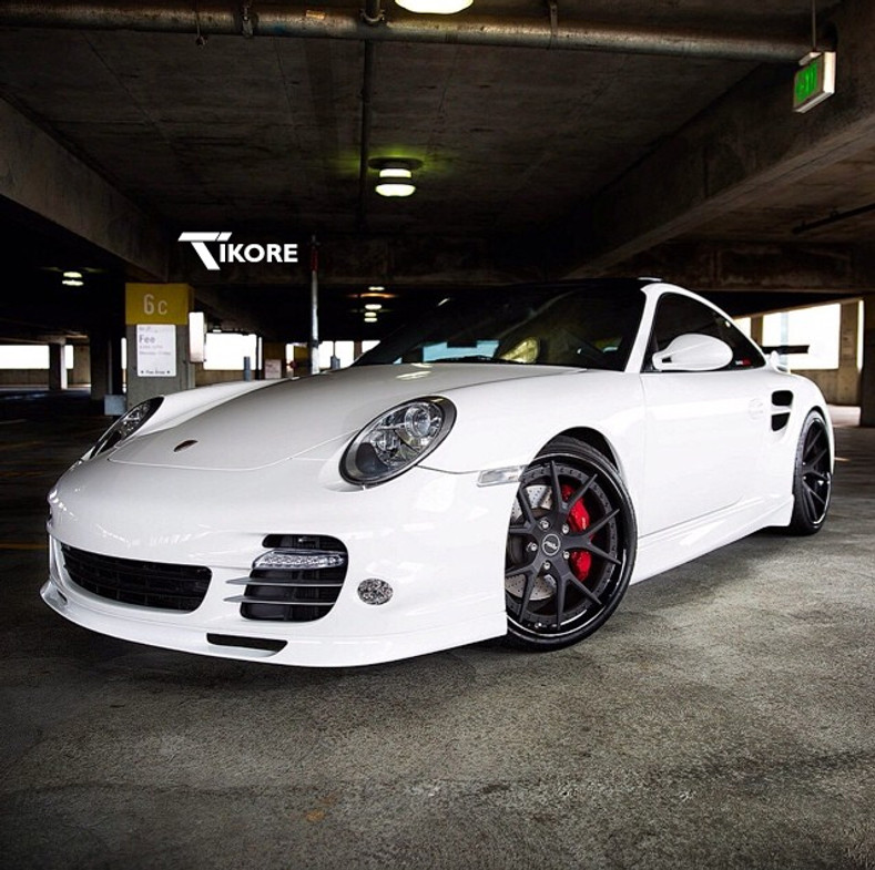 TiKORE + Porsche 997 Turbo + RSV Forged