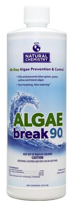 Natural Chemistry Algae Break 90 Day - 1qt