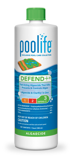 Algaecide Poolife® Defend+® algaecide - 1qt