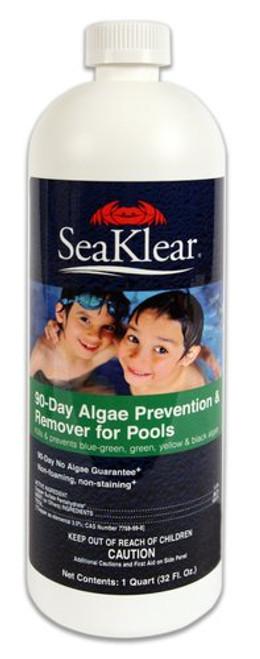 Algaecide SeaKlear 90 Day Preventer & Remover - 1qt