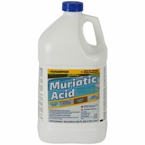 Muriatic Acid  CASE OF (4) GALLONS