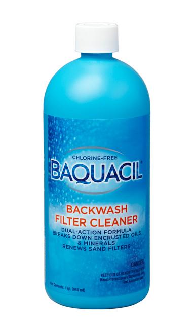 BAQUACIL® Backwash Filter Cleaner - 1qt