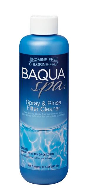 BAQUA Spa® Spray & Rinse Filter Cleaner - 1pt.