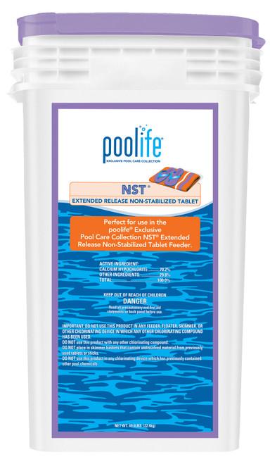 Chlorine Tab NST® CalHypo Poolife®  - 49.4lb