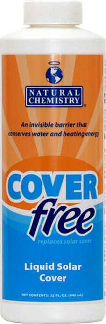 Pool Coverfree® Liquid Solar Cover - 1QT Natural Chemistry