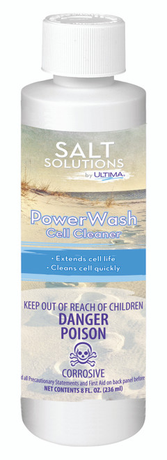Ultima® Power Wash Salt Cell Cleaner - 8oz