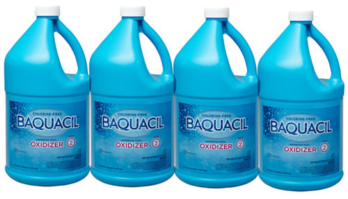 BAQUACIL® Oxidizer Shock - CASE of (4) GALLONS