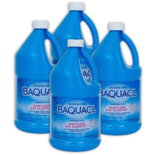 BAQUACIL® Swimming Pool Sanitizer - CASE OF (4) 1/2 Gal Bottles