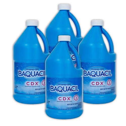 BAQUACIL® CDX® - CASE OF (4) 1/2 Gallon Bottles