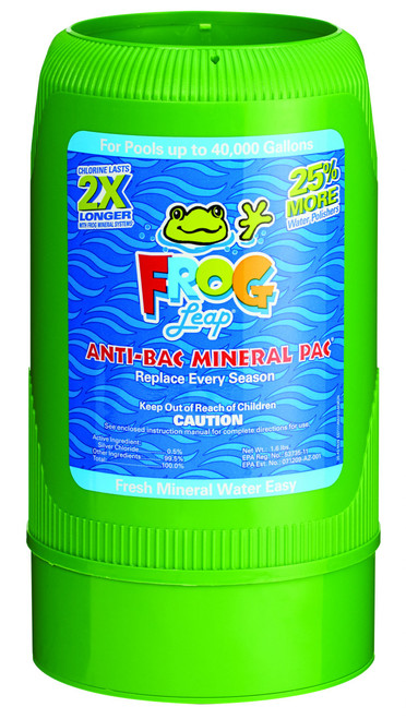 FROG Leap® Mineral Reservoir Green Anti-Bac