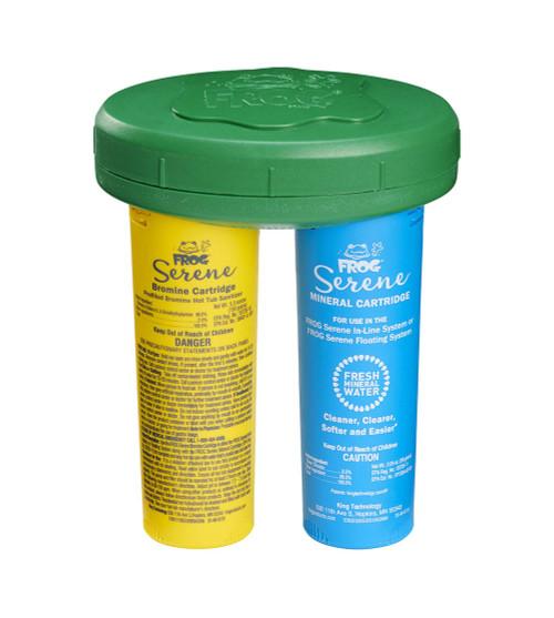 Spa FROG Serene® Mineral & Bromine Floating System