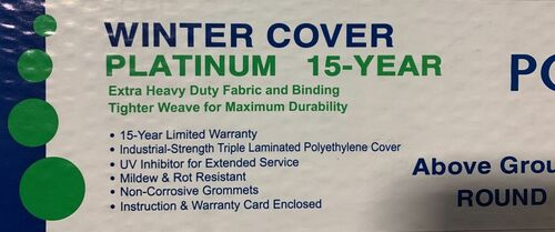 A/G 28' ROUND Winter Cover *Solid*