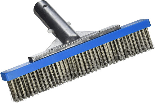"9"" Stainless Steel Algae Brush #709"