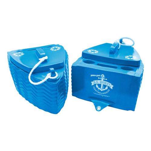 S.S. Goodlife Floating  Cooler *BAHAMA BLUE*
