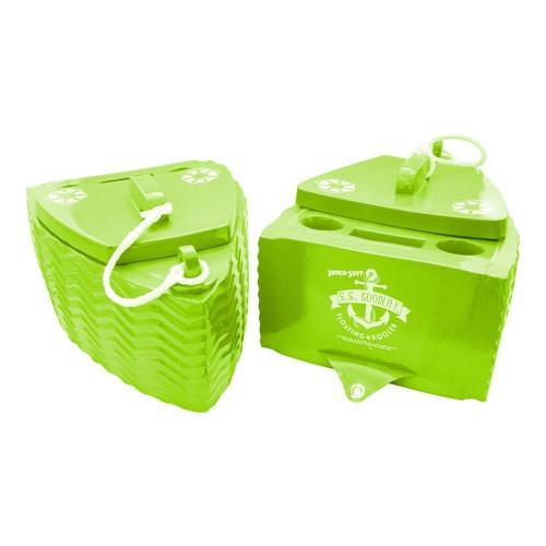 S.S. Goodlife Floating Cooler *KOOL LIME GREEN*