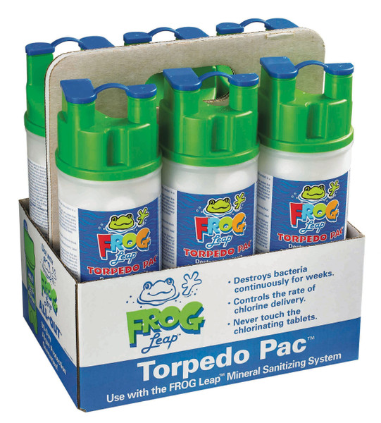 FROG Leap® Torpedo Bac Pac Chlorine - (6 PACK!) (PICK UP ONLY!)
