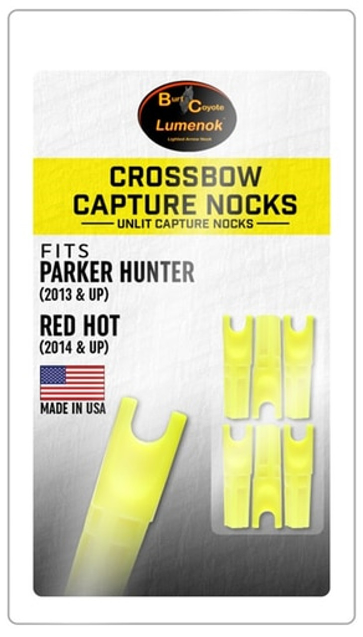 Burt Coyote Capture Nock 6 Pack