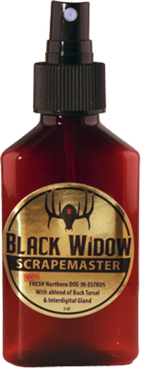 Black Widow Scrape Master Northern Whitetail Lure 3oz