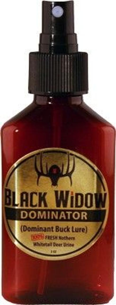 Black Widow Dominator Northern Whitetail Buck Urine 3oz