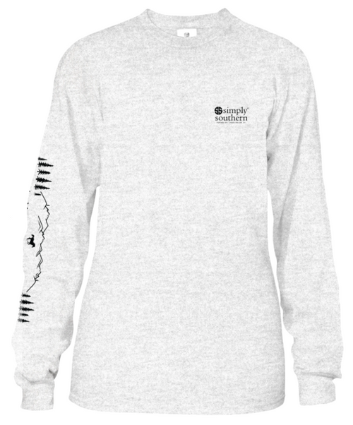 Simply Southern - Long Sleeve T-Shirt - Horsin' Around