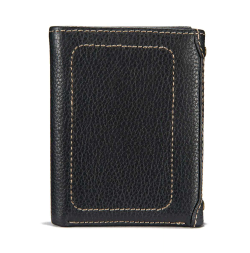 Carhartt - Trifold - Milled Pebble - Black