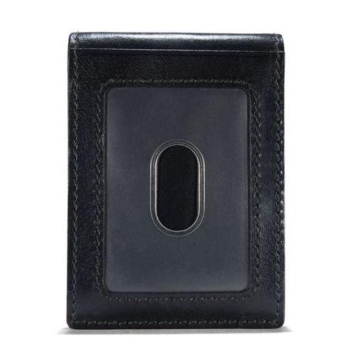 Carhartt - Bifold/Money Clip - Rough Cut - Black